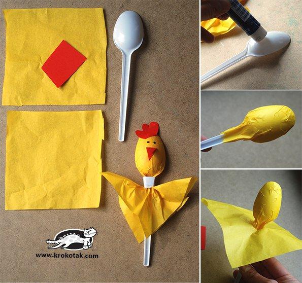 Что можно сделать из пластиковых ложек своими