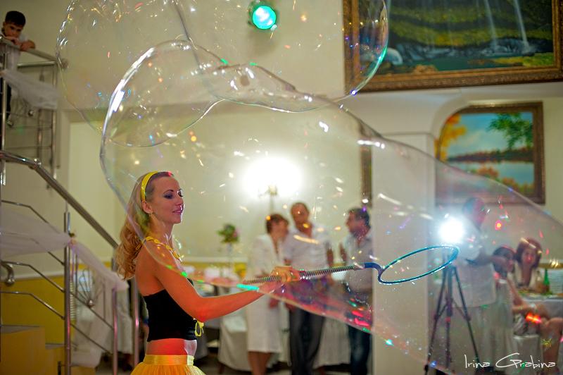 Шоу мыльных пузырей ютуб