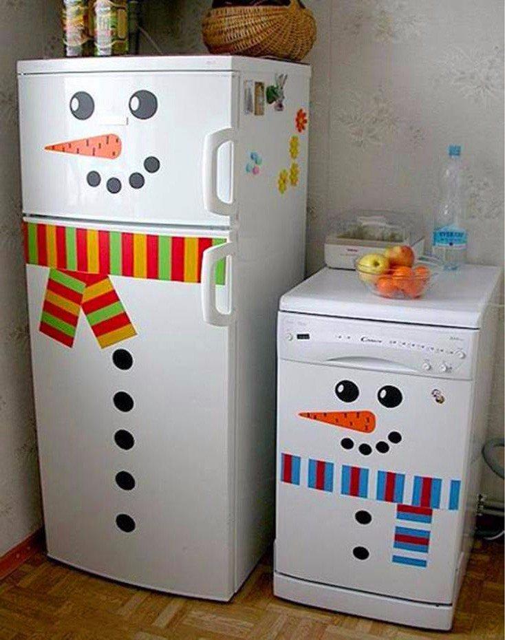 Своими руками декор на холодильник